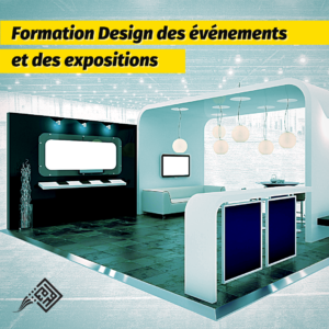 formation design des événéménts et d'expositions